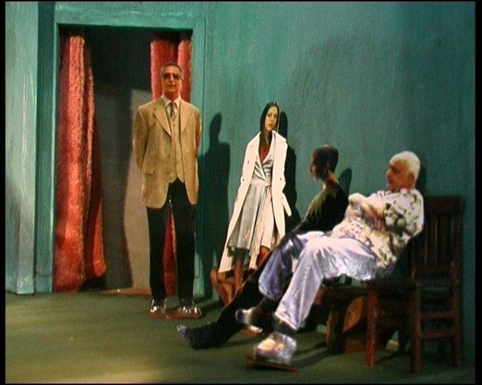 2009 La Voix Humaine / Pagliacci MODELLINO 15