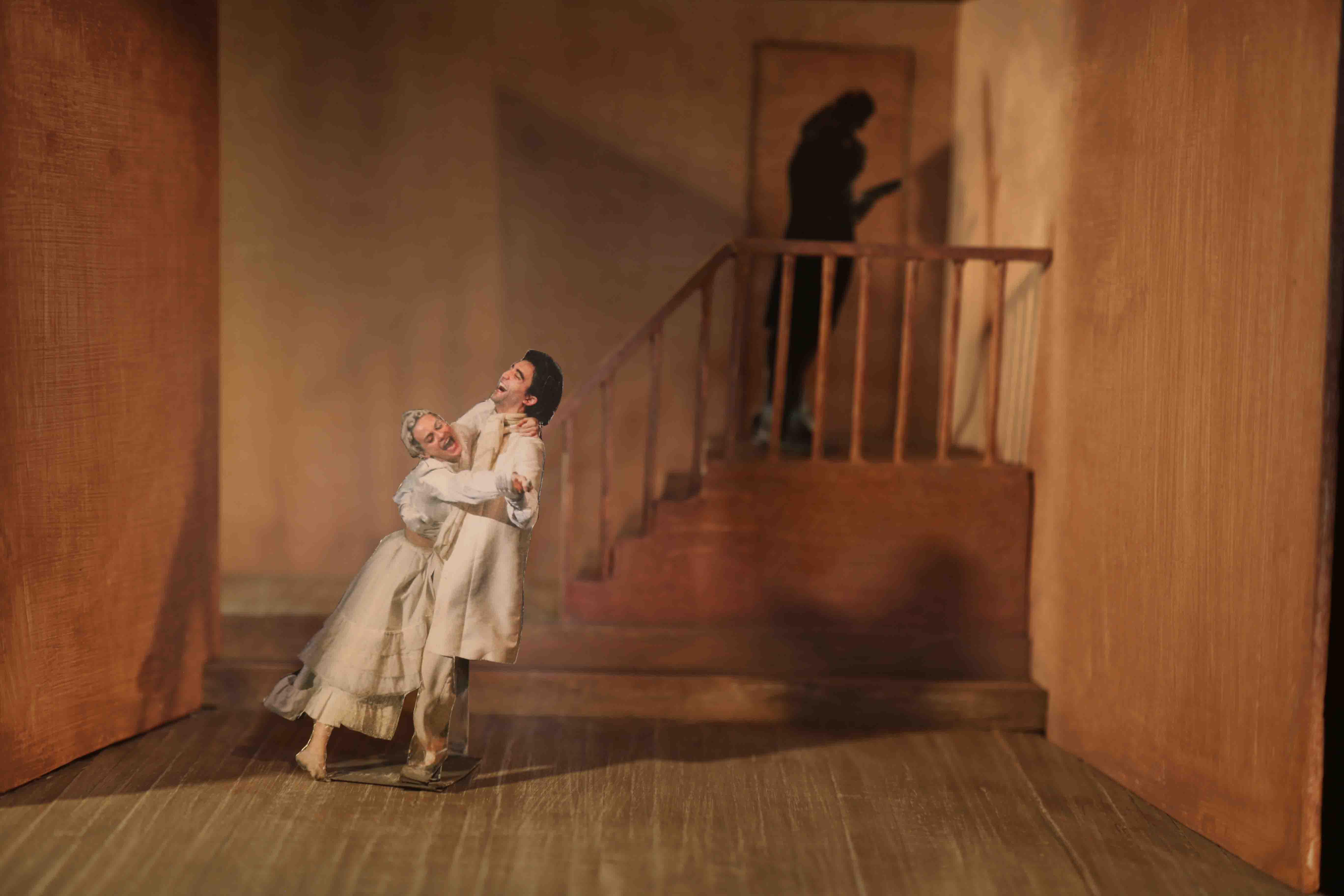 2018 La Locandiera - Modellino di scena 1