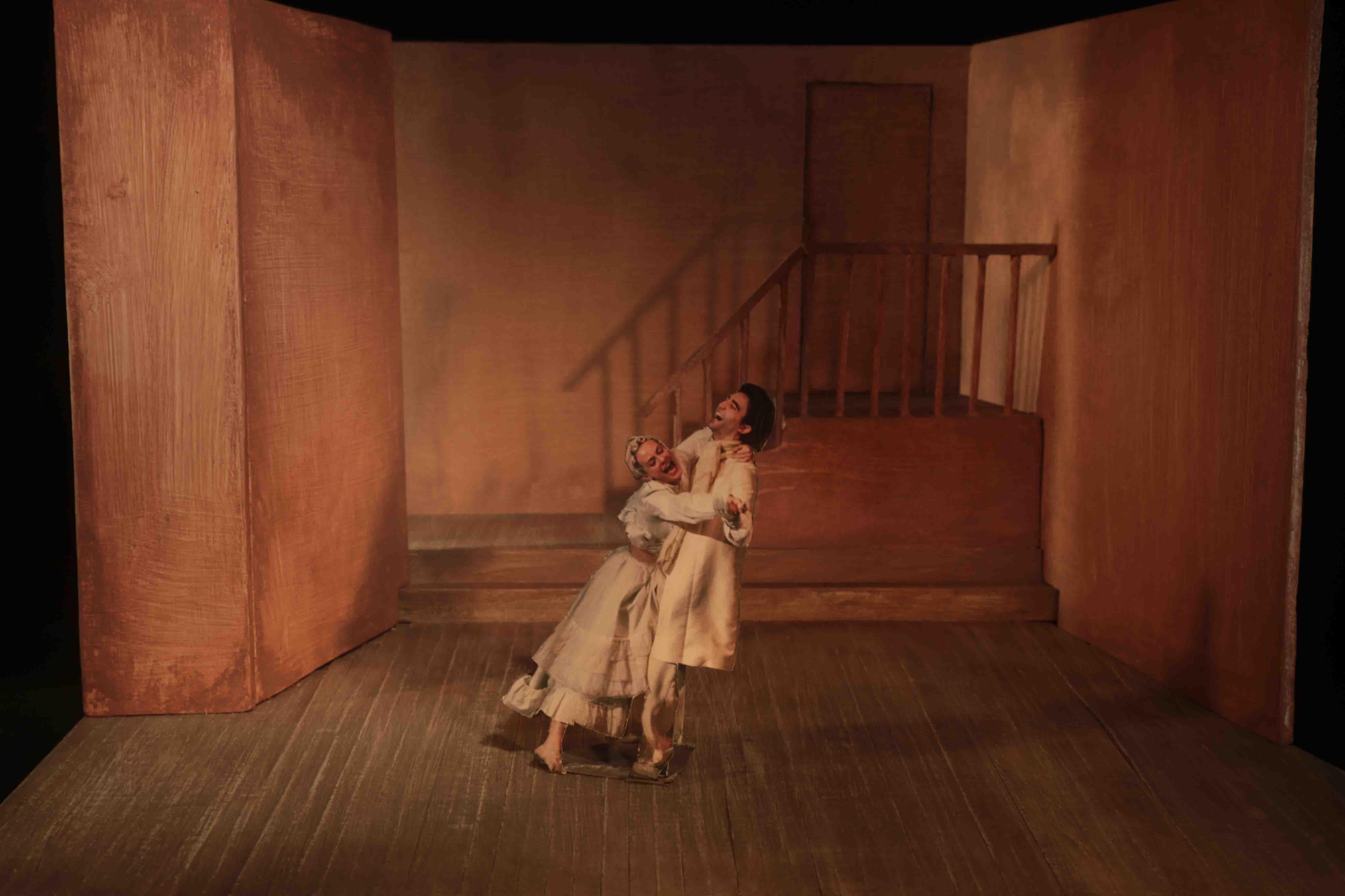 2018 La Locandiera - Modellino di scena 6