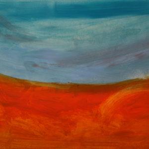 Antonio Panzuto - Paesaggio arancione 2