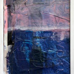 Antonio Panzuto - Paesaggio con macchia blu