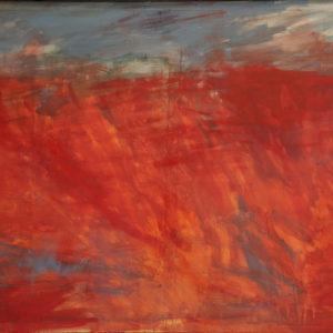 Antonio Panzuto - Paesaggio rosso 1