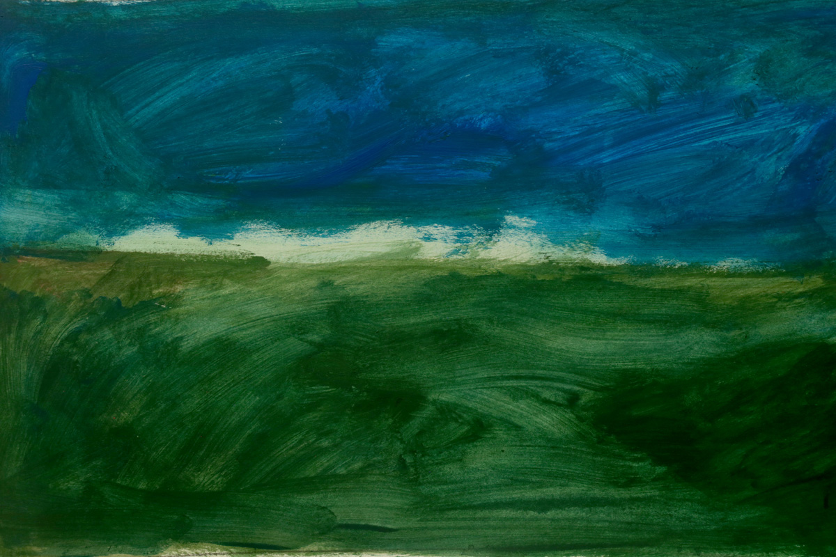 Antonio Panzuto - Paesaggio tempesta