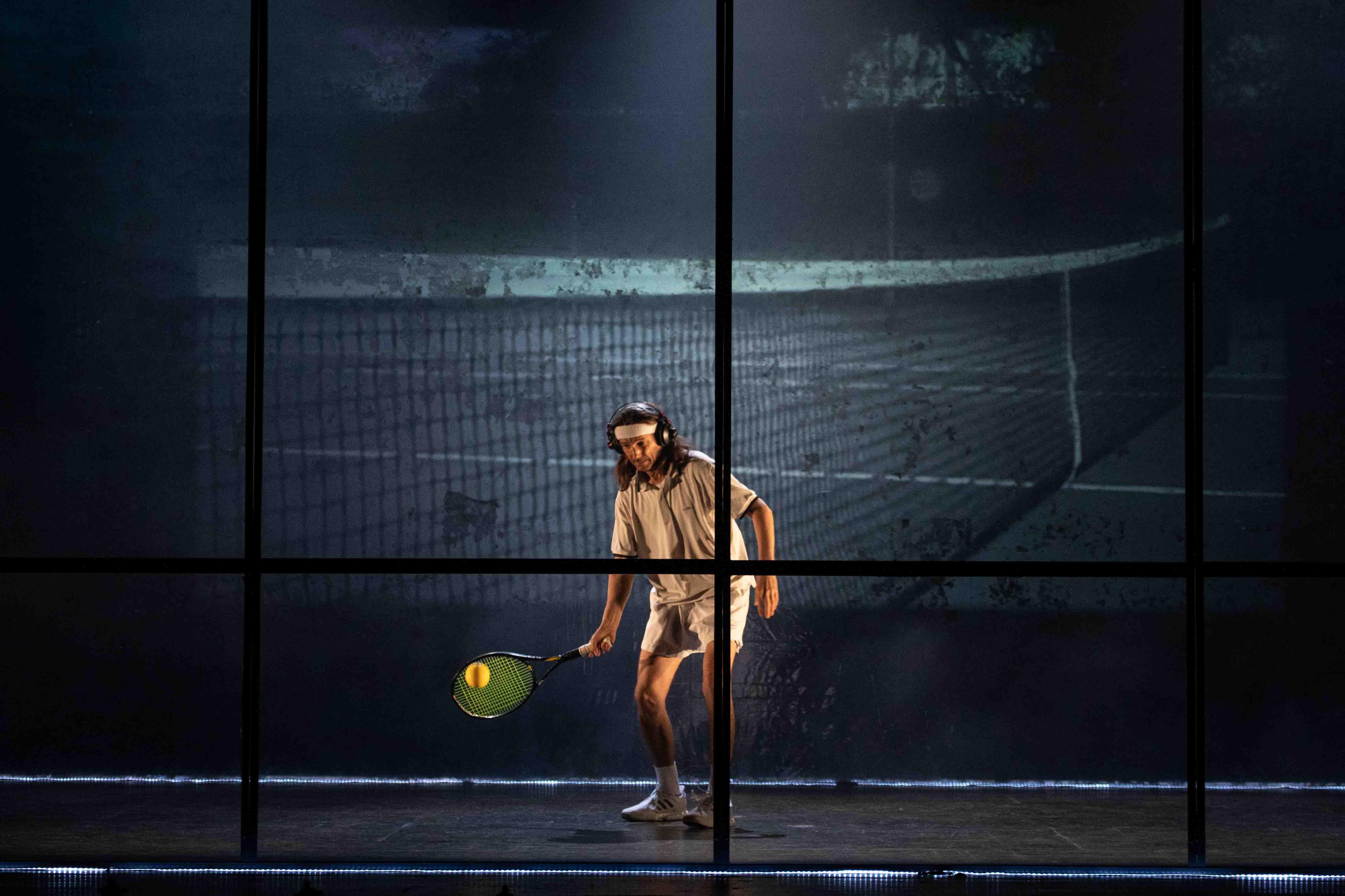 Tennis Foto di scena 11