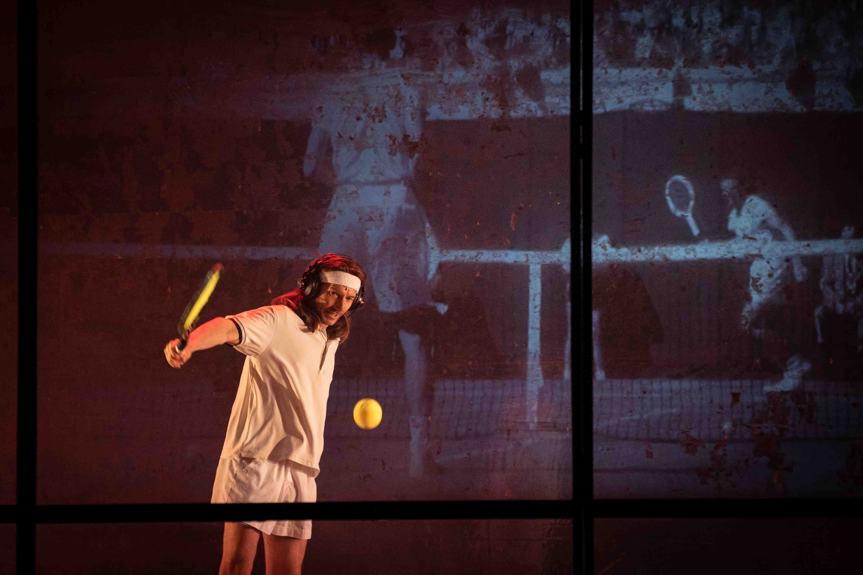 Tennis Foto di scena 12