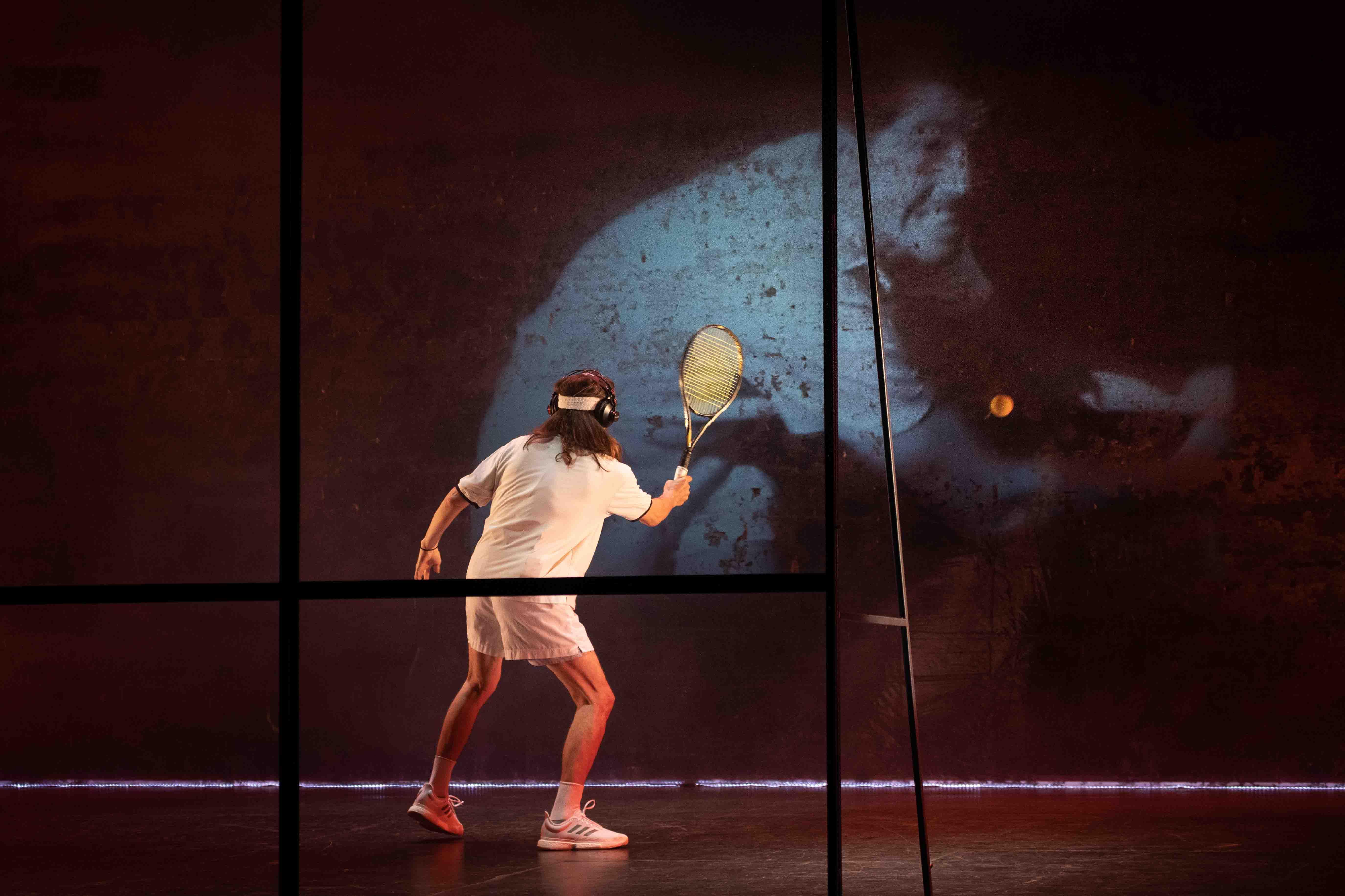 Tennis Foto di scena 14