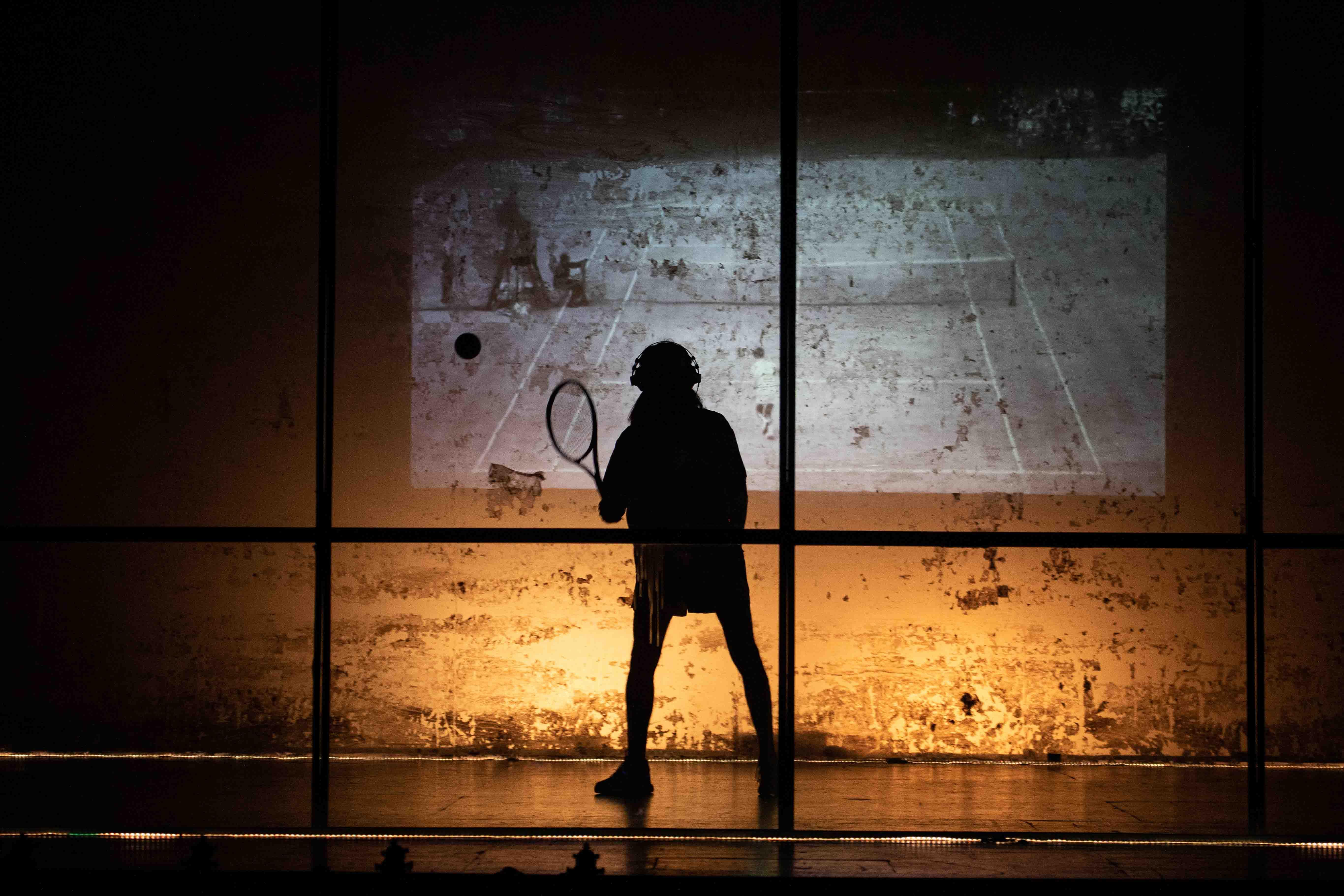 Tennis Foto di scena 19