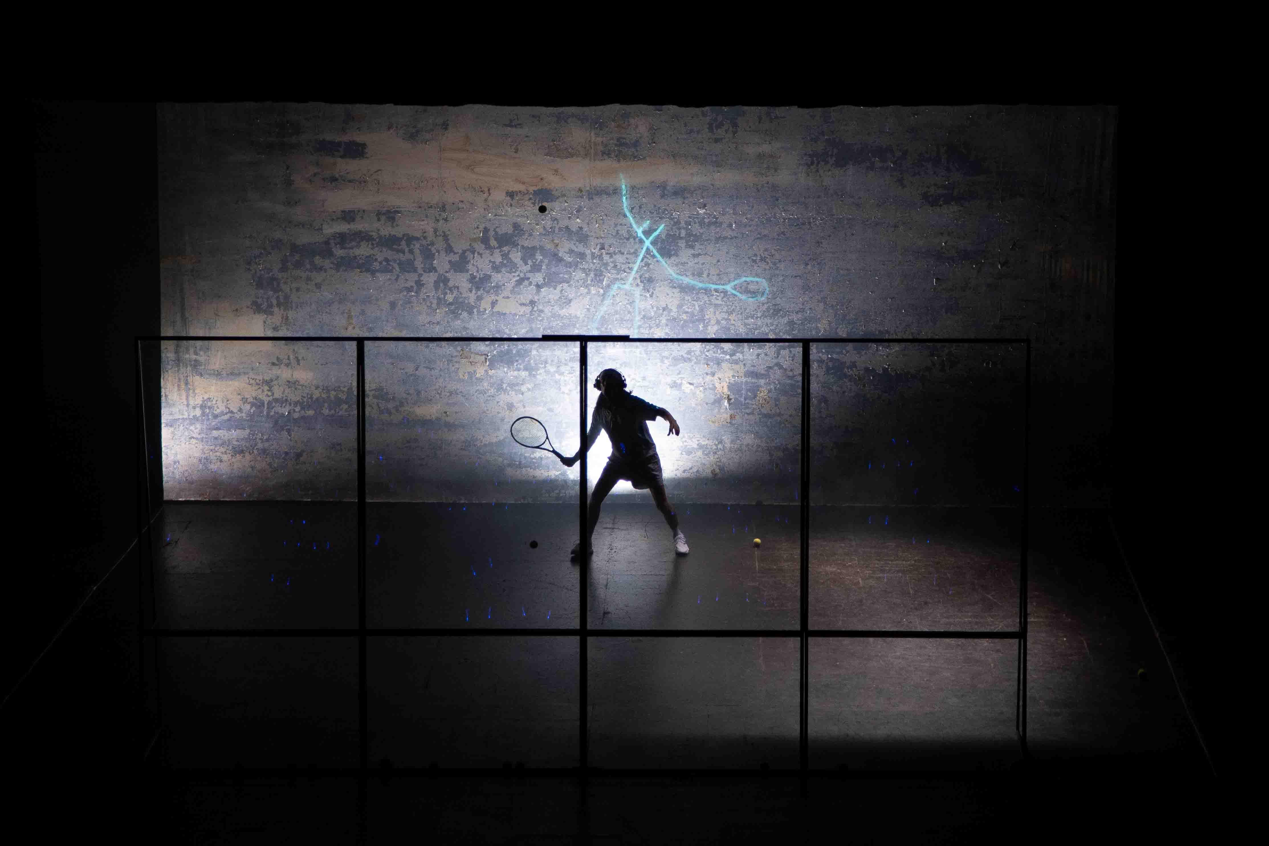 Tennis Foto di scena 35