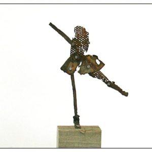 Antonio Panzuto - sculture Ruggini - Ballerina - Rusty sculpture Dancer