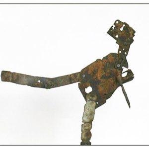Antonio Panzuto - sculture Ruggini - Ballerino - Rusty sculpture Dancer