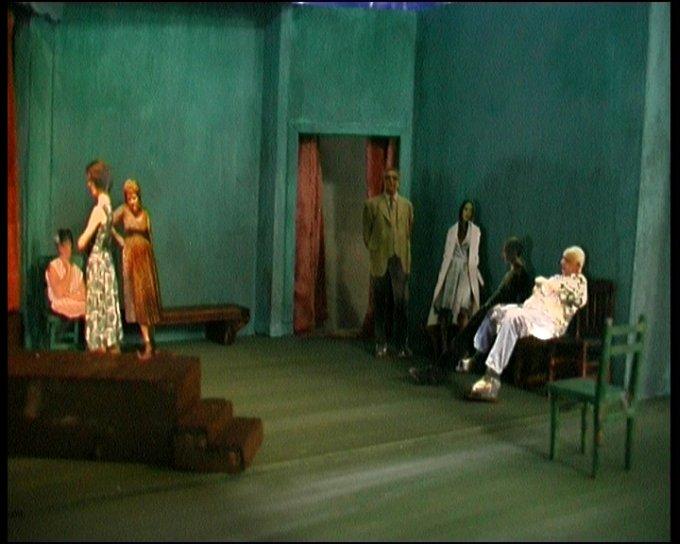 2009 La Voix Humaine / Pagliacci MODELLINO 16