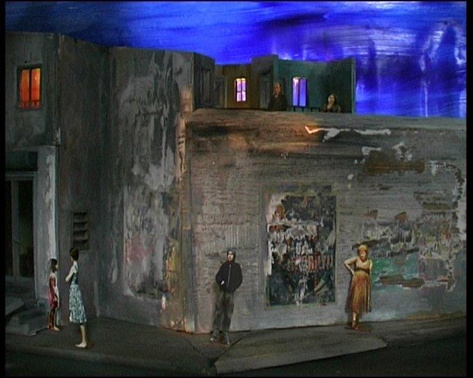 2009 La Voix Humaine / Pagliacci MODELLINO 23