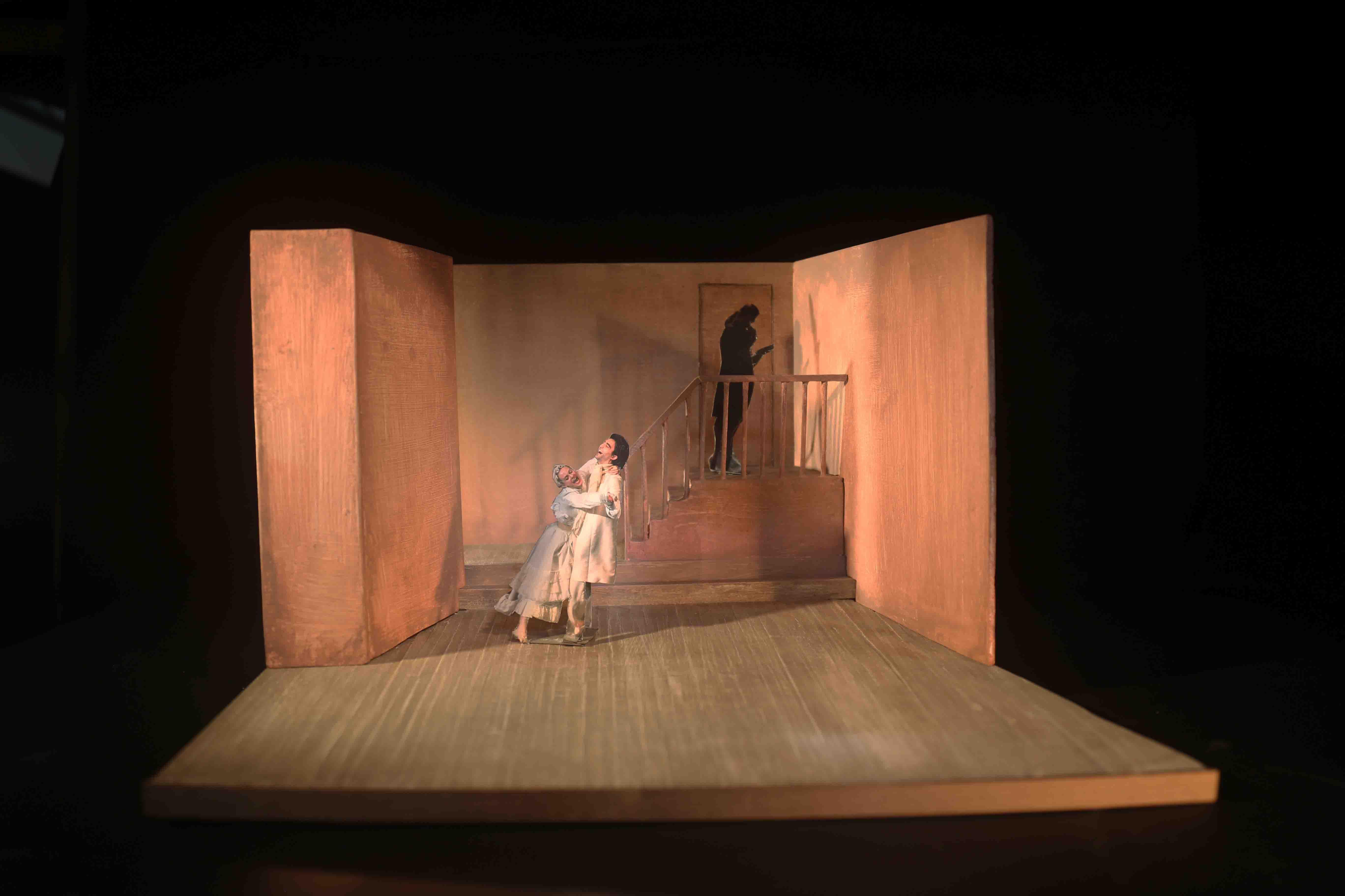 2018 La Locandiera - Modellino di scena 2