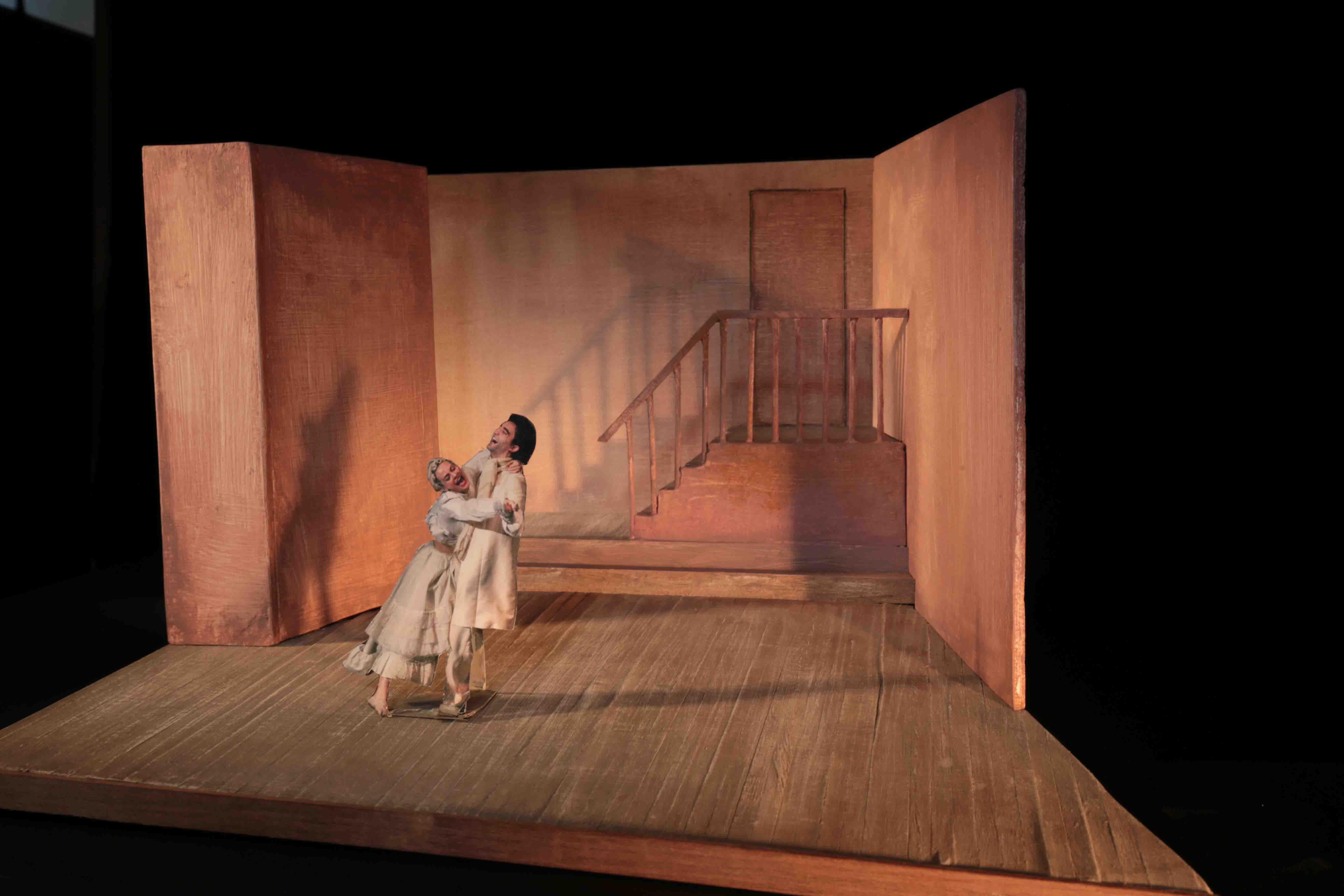 2018 La Locandiera - Modellino di scena 3