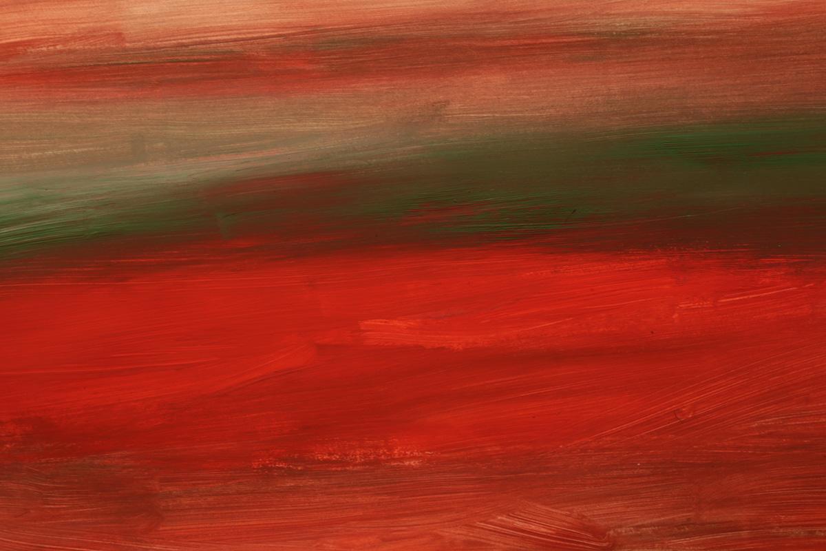 Antonio Panzuto - Paesaggio verde rosso