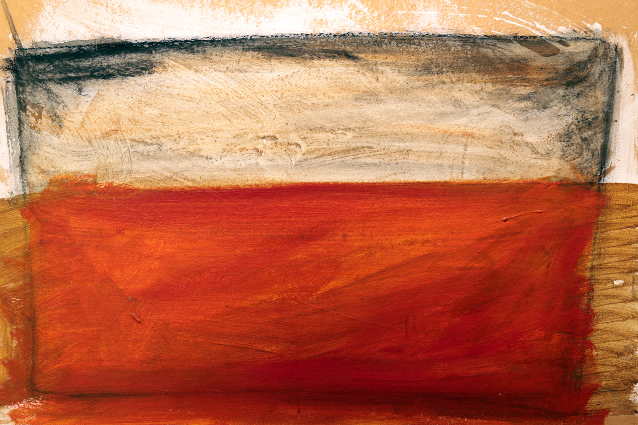 Antonio Panzuto - Paesaggio arancione 1