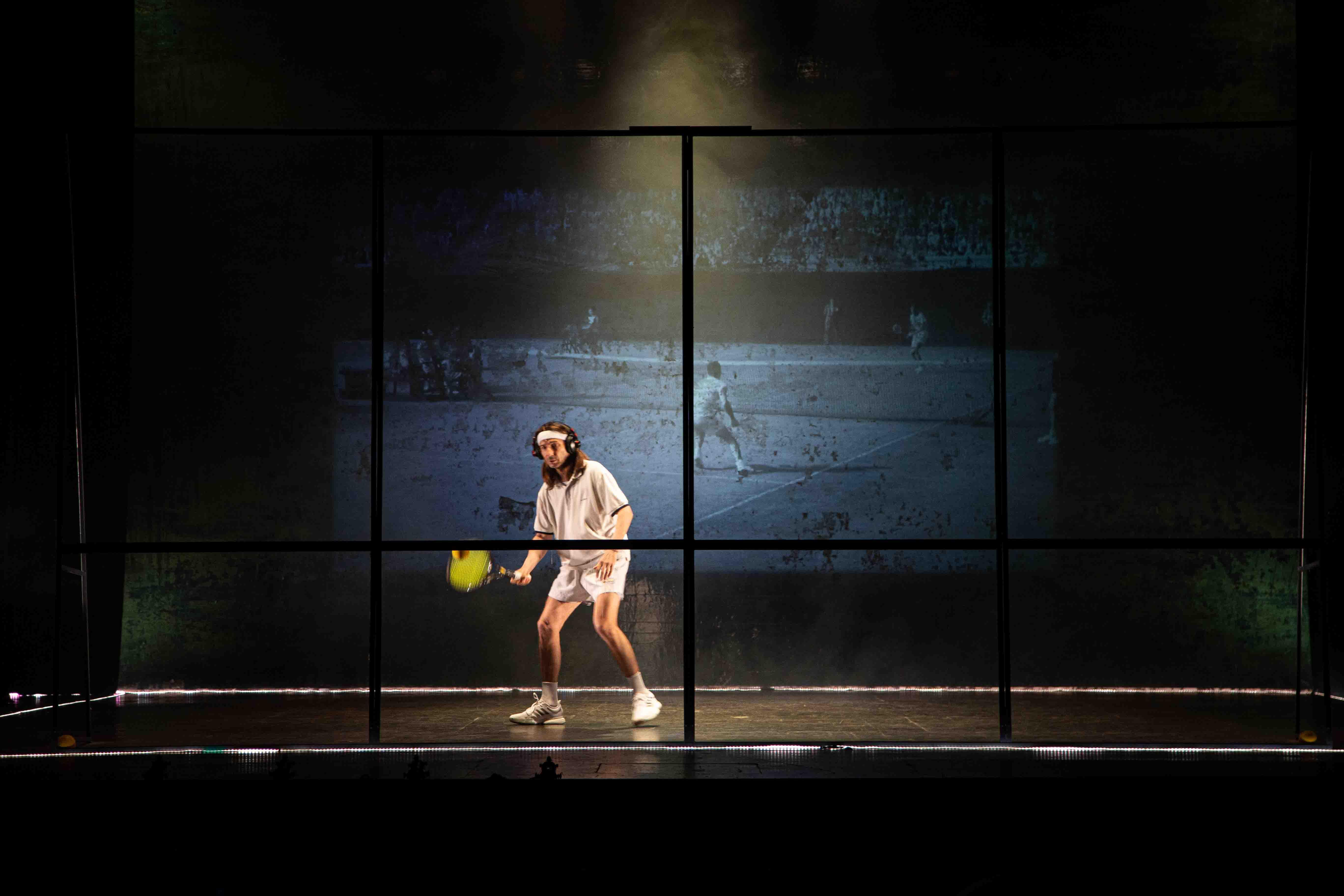 Tennis Foto di scena 23