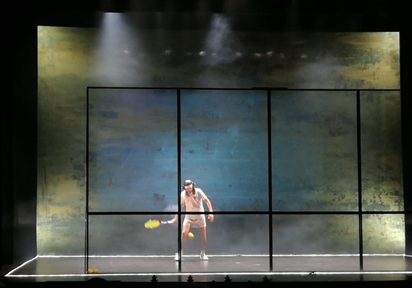 Tennis Foto di scena 2