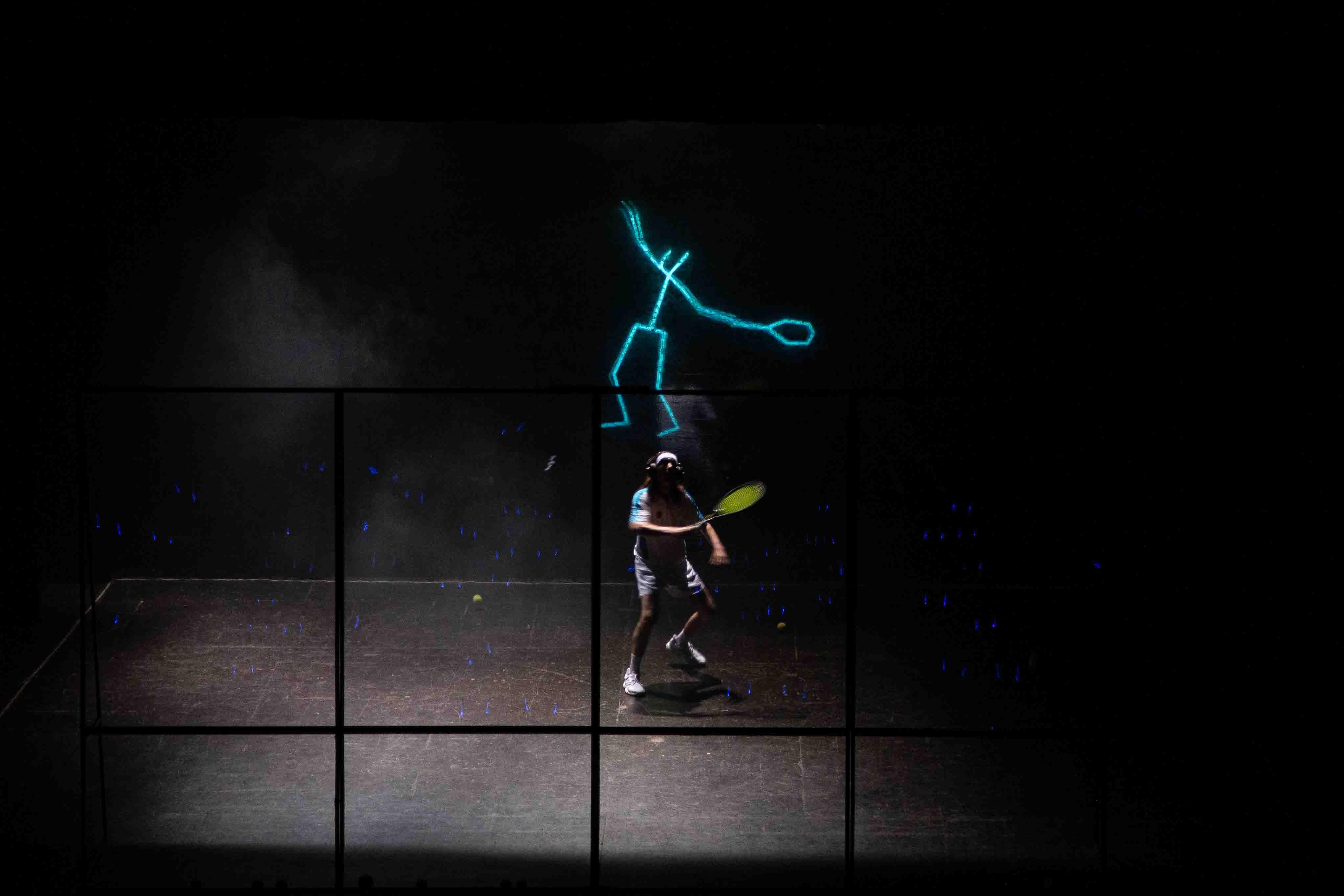 Tennis Foto di scena 36
