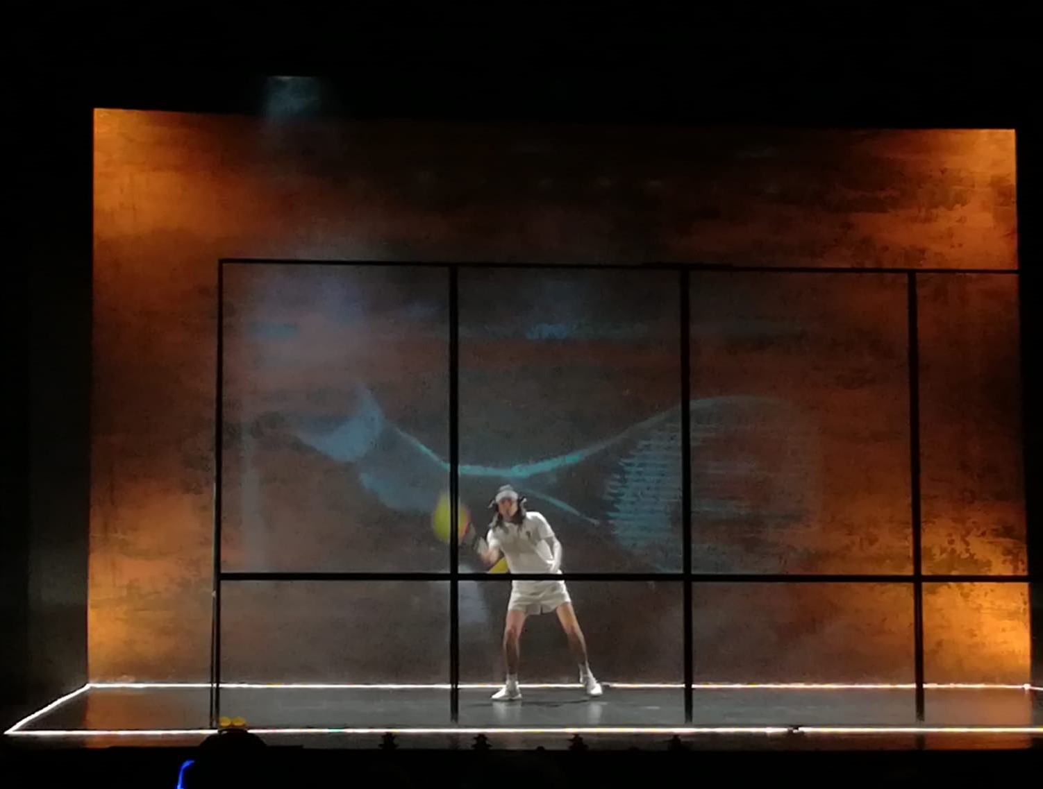 Tennis Foto di scena 6