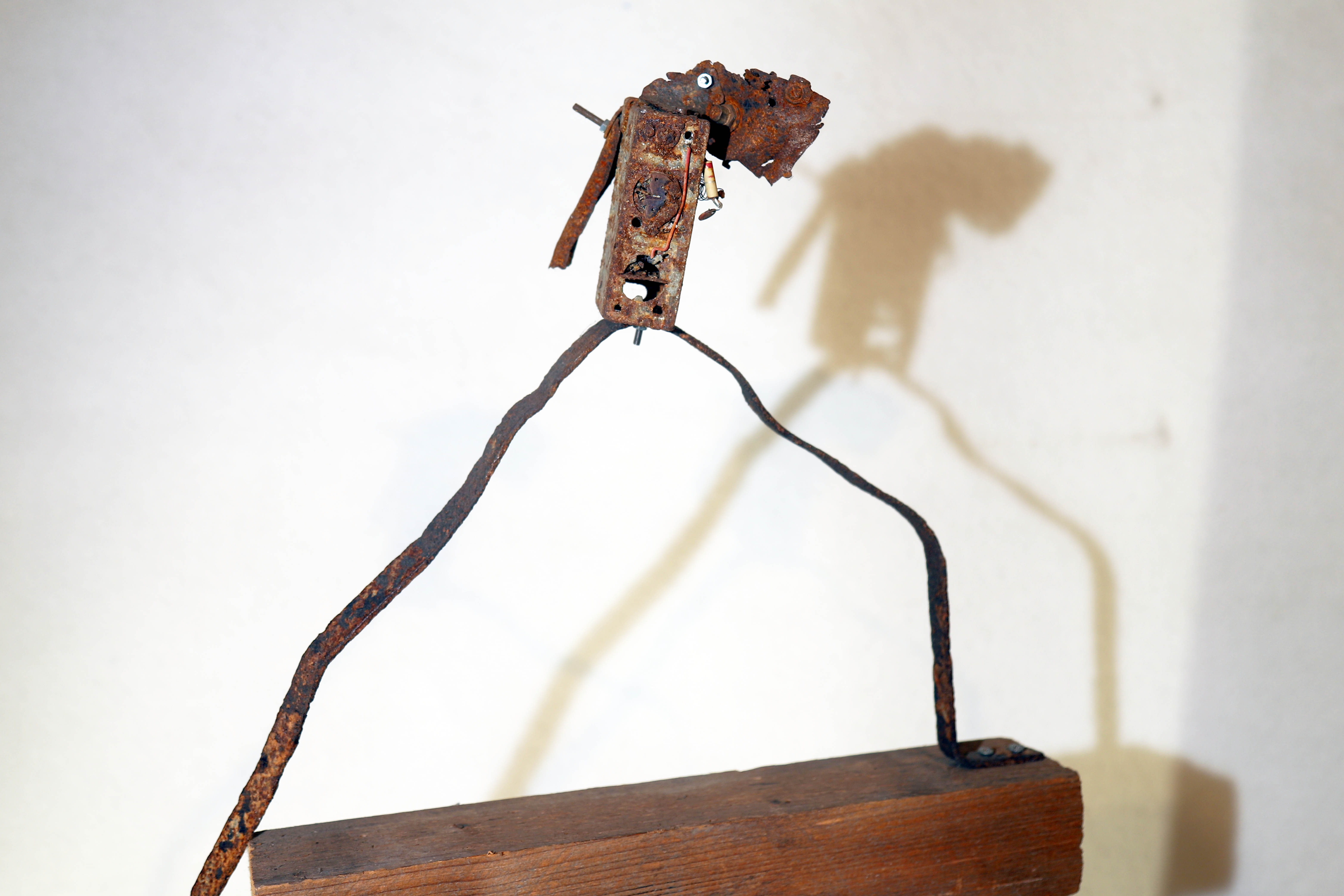 Antonio Panzuto - sculture Ruggini - Figura danzante 7 - Rusty sculpture Dancing figure