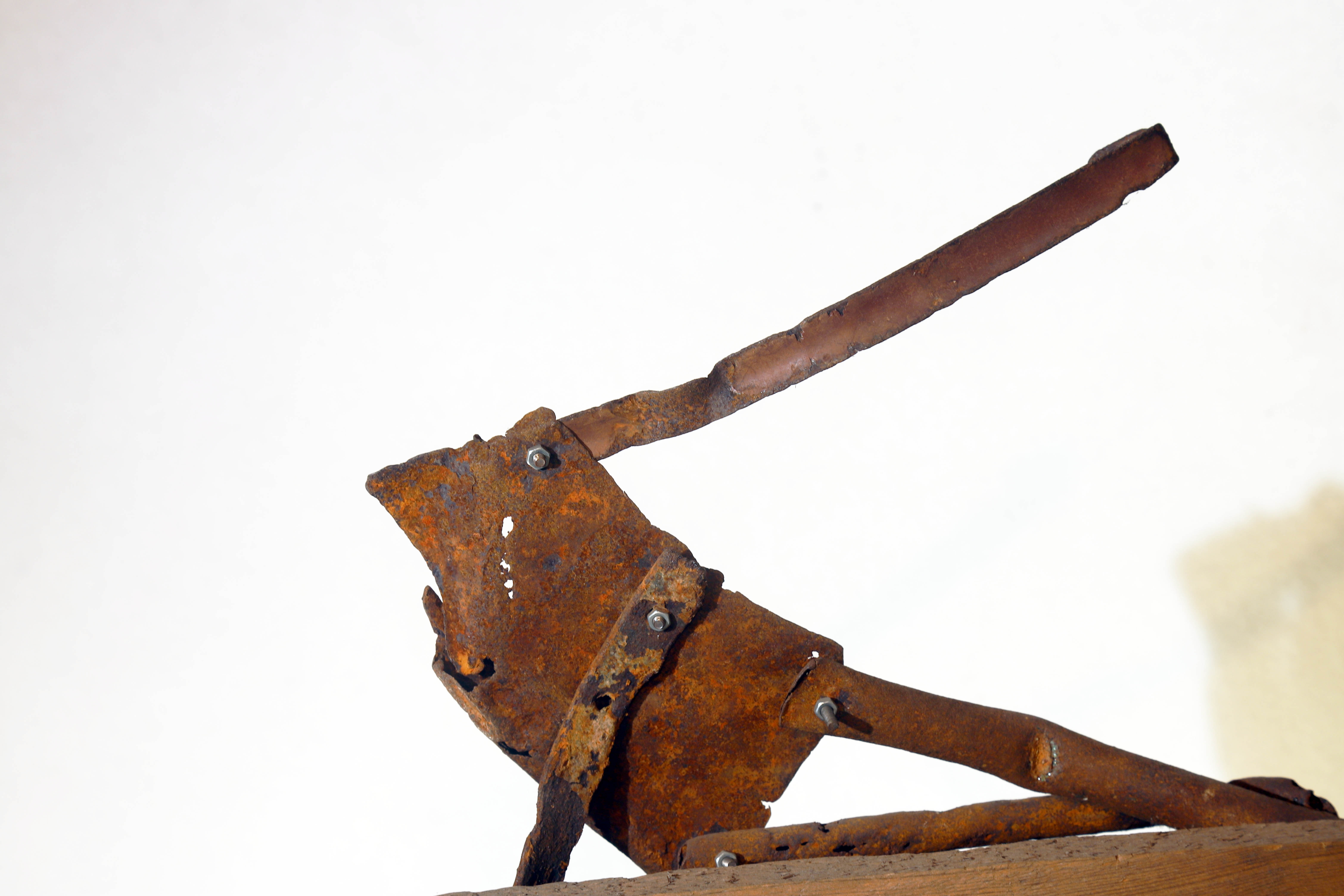 Antonio Panzuto - sculture Ruggini - Figura danzante 9 - Rusty sculpture Dancing figure